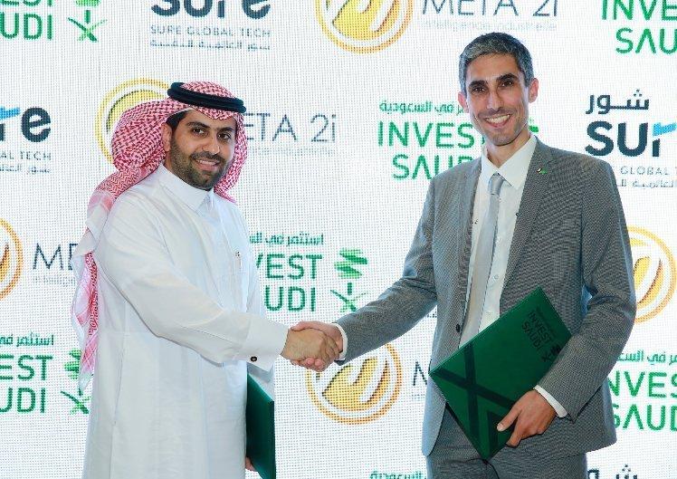 Photo montrant le partenariat entre Meta 2i et son intégrateur Saoudien SURE