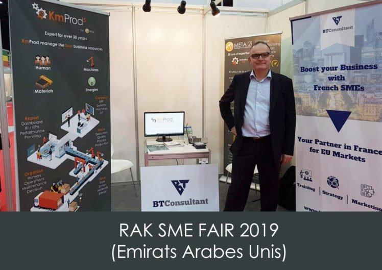 BT Consultant représente KmProd au salon RAK SME FAIR aux Emirats Arabes Unis